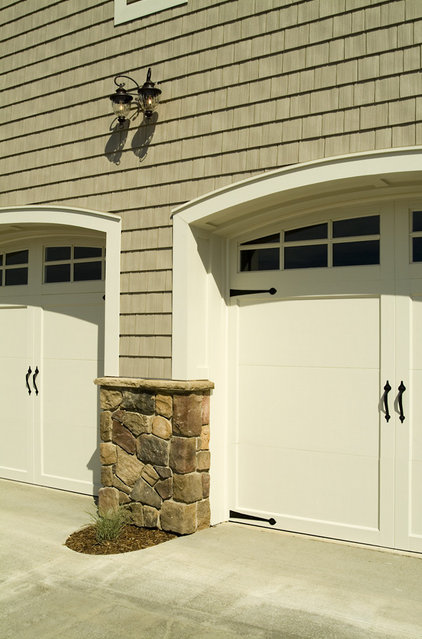 Traditional Garage And Shed by Rivertown Homes by Design