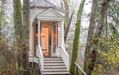Peek Inside This Private Pavilion in the Washington Woods