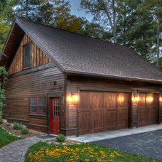 Traditional Garage And Shed by Lands End Development - Designers & Builders