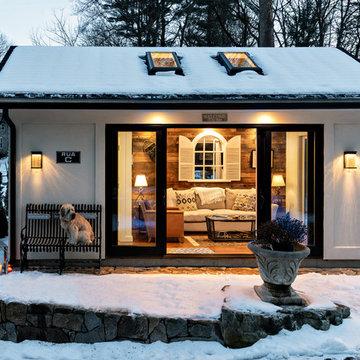 Wellesley MA Smart Home / Shed