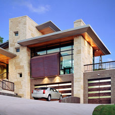 Modern Garage And Shed by Anthony Lindsey Photography