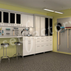contemporary garage and shed by Kay Wade,  Closet Factory, VP-Head Designer