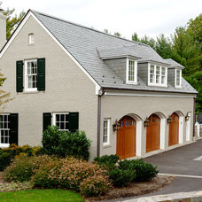 Traditional Garage And Shed by BOWA