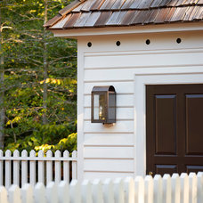Traditional Garage And Shed by 3north