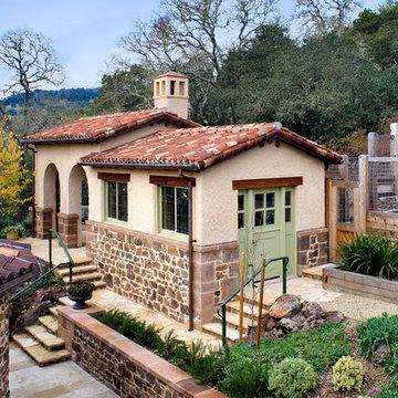 Wine Country Spanish Estate