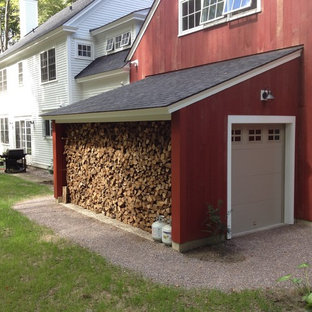 Design ideas for a country attached garden shed in Burlington.