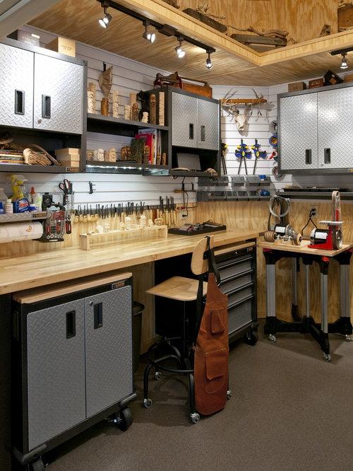 Best Garage Work Station Design Ideas Amp Remodel Pictures