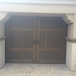 Wood Garage Doors -