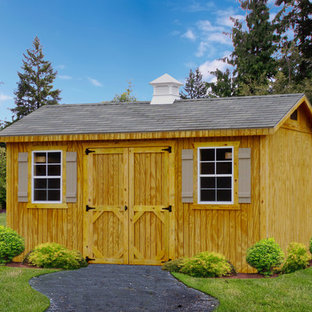 Wood Sided Garden Shed