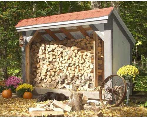 Diy Firewood Shed Houzz
