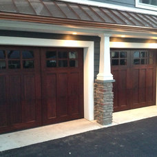 Contemporary Garage And Shed by M4L,Inc