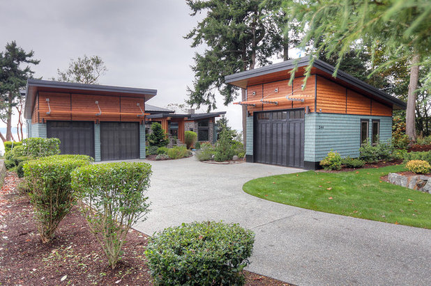 Concealed garages with kerb appeal for Dan nelson architect