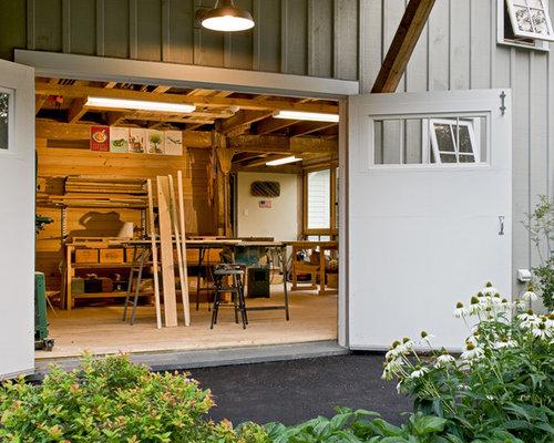 SaveEmail. Houzz   Garage Workshop Design Ideas   Remodel Pictures