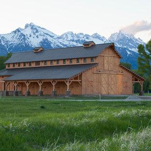 Barn - farmhouse barn idea in Other