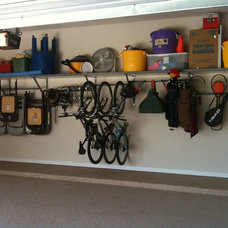 Traditional Garage And Shed by Garage Systems LLC