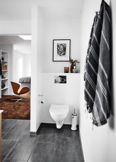 Moderne Lille badeværelse by Mia Mortensen Photography