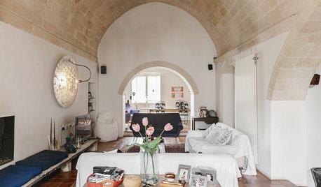 Eine Wohnhöhle aus dem 13. Jahrhundert behutsam modernisiert