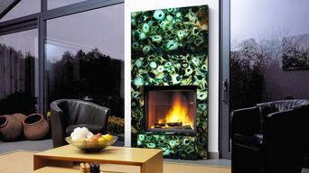 Agata luxury stone mantle