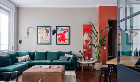 Visite Privée : Un appartement coloré inspiré par Le Corbusier