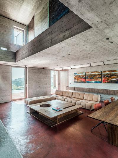 Moderno Soggiorno by GGA gardini gibertini architetti
