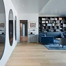L'appartamento Ristrutturato in Sintonia con Zaha Hadid