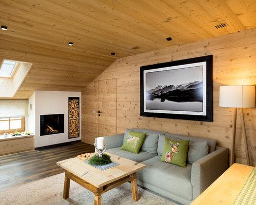 Foto e idee per soggiorni soggiorno in montagna for Tre erre arredamenti