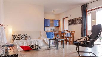 Appartamento bilivello in stile Contemporaneo