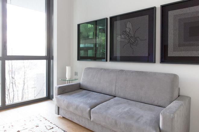 Moderno Sala de estar by Federico Floriani