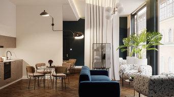 Appartamento di 65 mq per una coppia italiana, Londra, GB