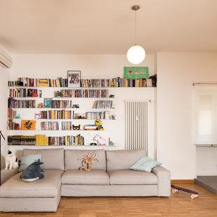 Esempio di un soggiorno contemporaneo