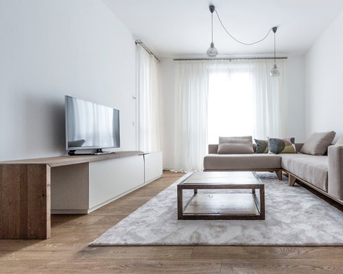 Foto e idee per soggiorni soggiorno moderno for Soggiorno minimalista