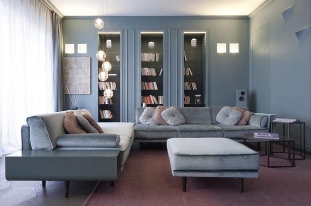 Moderno Soggiorno by Studio Andrea Castrignano