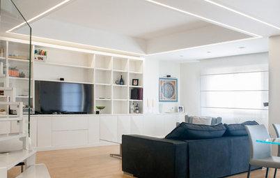 Progetto del Mese: Due Piani Completamente Trasformati dai LED