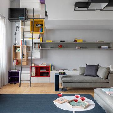 Camera con vista - Duplex in Viale Montenero, Milano