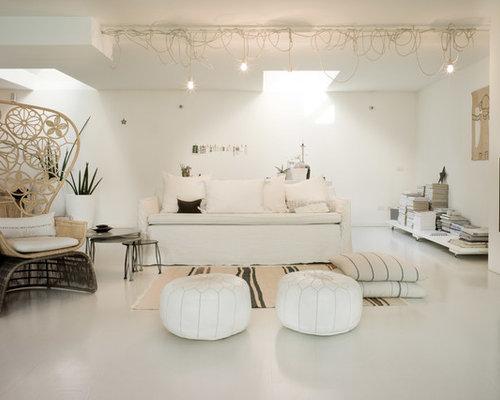 Soggiorno shabby chic style foto e idee per arredare - Mobili soggiorno shabby chic ...