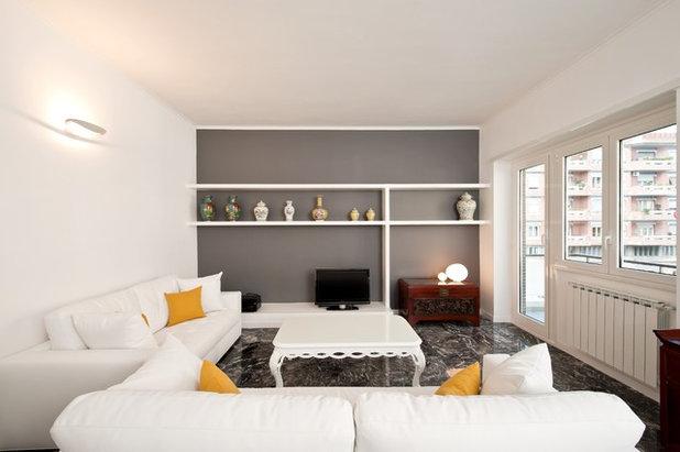 Prima E Dopo Restaurare Un Appartamento Anni 70 Grazie Al Giallo