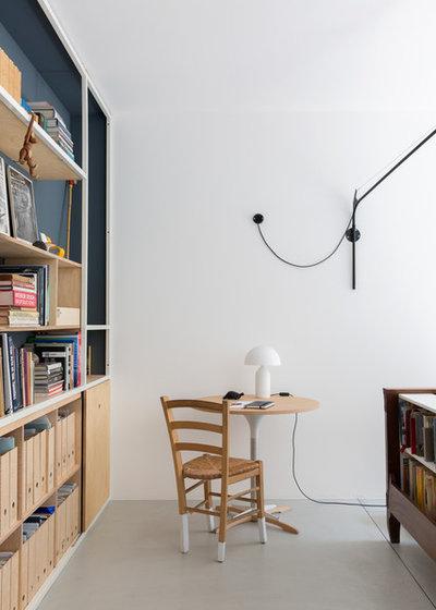 Industrial Living Room by sm*s stefaniamicottistudio