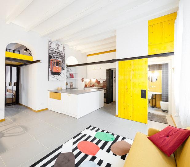 Industriale Soggiorno by 23bassi   Studio di architettura