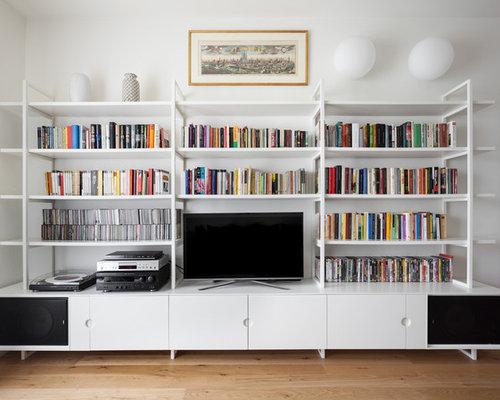 Parete Attrezzata Libreria Soggiorno: Pareti attrezzate per soggiorno Outletarreda.