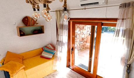 Legno, Corda e Natura per gli Interni di una Casa in Sardegna