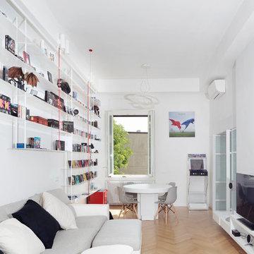 Casa per un collezionista - Ristrutturazione chiavi in mano - 150mq