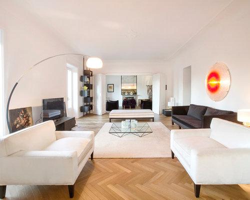 Foto e Idee per Soggiorni - soggiorno con TV autoportante