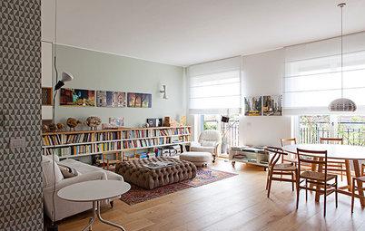 Familienwohnung in Mailand: Weniger Wände, mehr Licht und Platz!