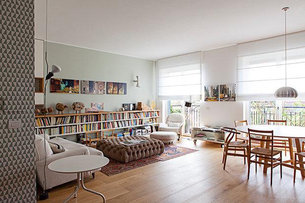 Contemporain Salon by cecilia avogadro