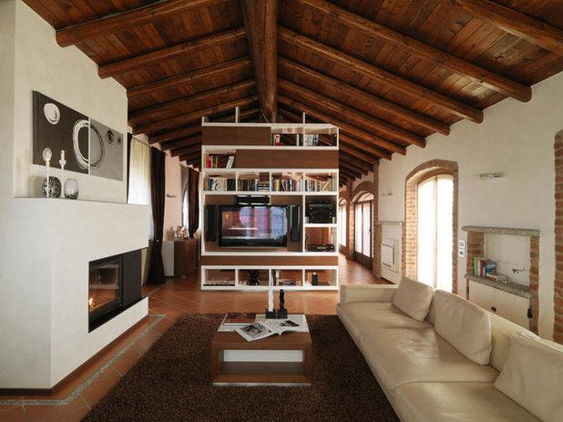 Come trasformare un sottotetto in un attico piccolo ma for Come costruire un piano mezzanino in un garage