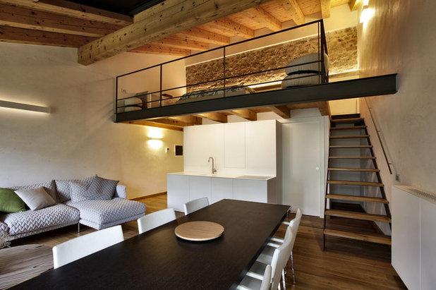 Moderno Soggiorno by Elia Falaschi Fotografo