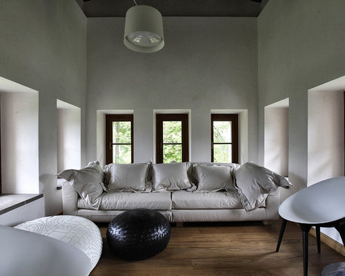 Piccolo soggiorno moderno foto e idee per arredare for Idee soggiorno piccolo