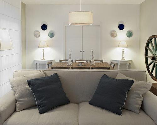 Foto e Idee per Soggiorni - soggiorno shabby-chic style