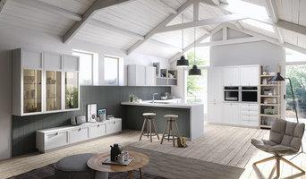Cucina telaio moderna