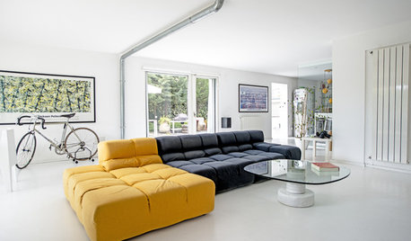 My Houzz: A Garage is Transformed into a Bright Apartment